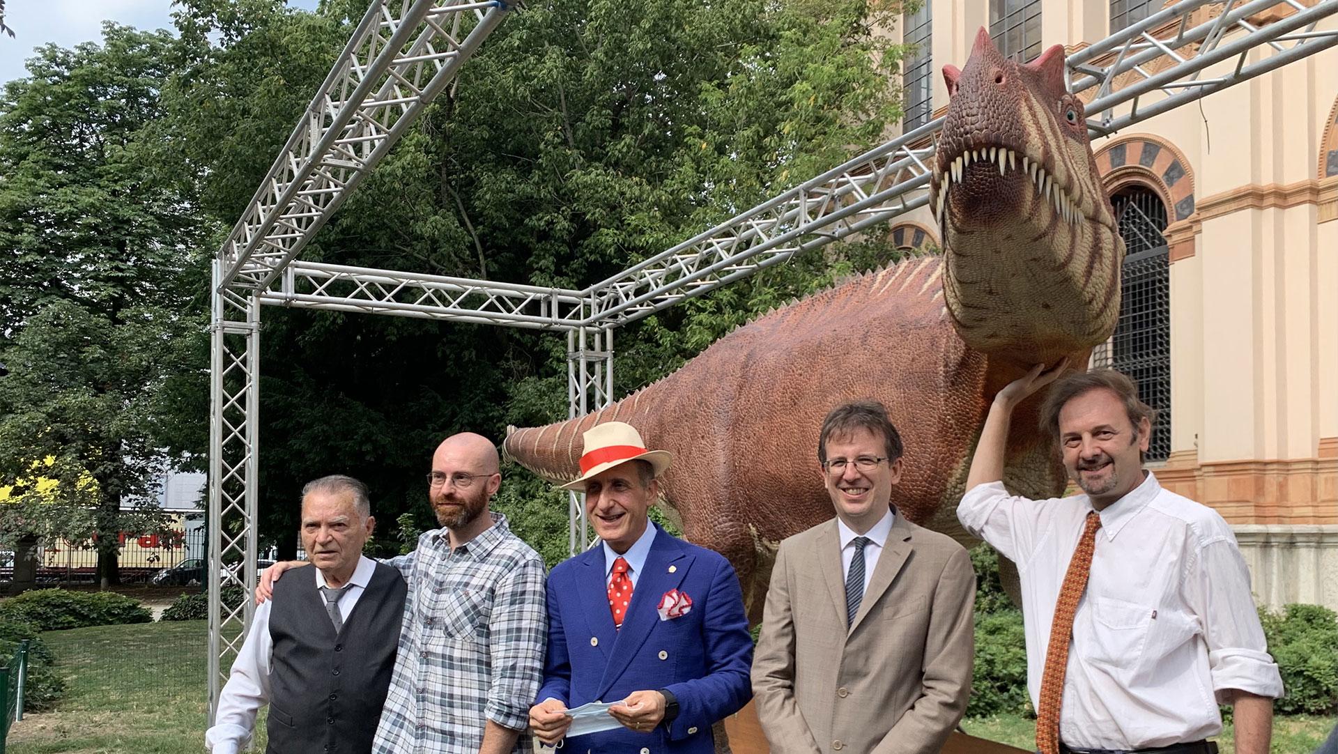 Il primo e unico dinosauro lombardo